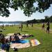 Jezioro naturalne Czechy Camping